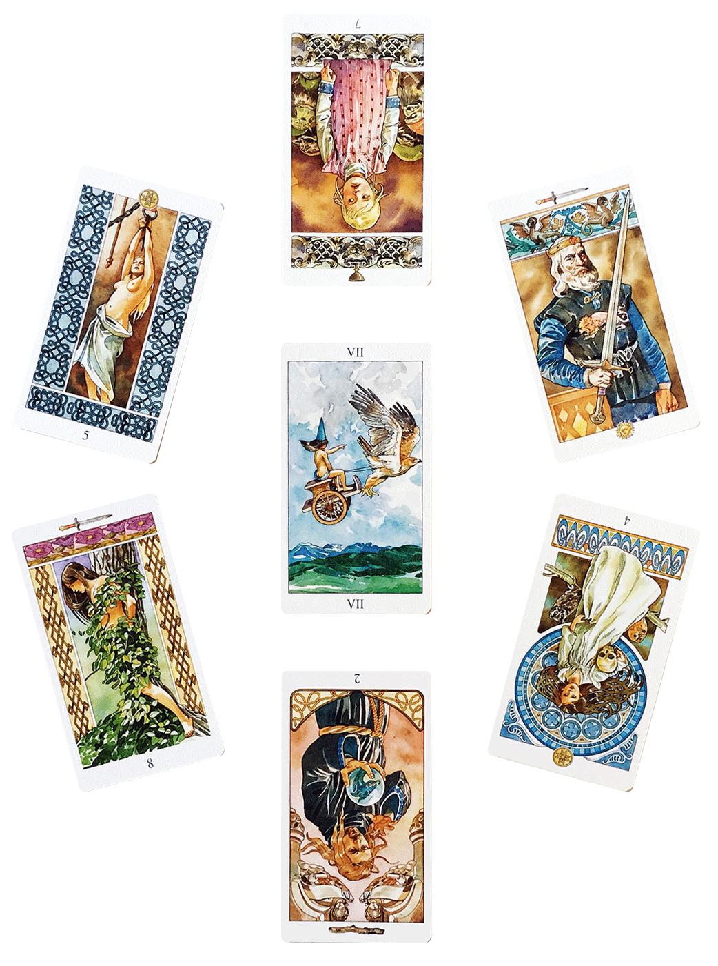 A New Year Tarot Spread + My Cards for 2019 – ILLUMINATE HOPE