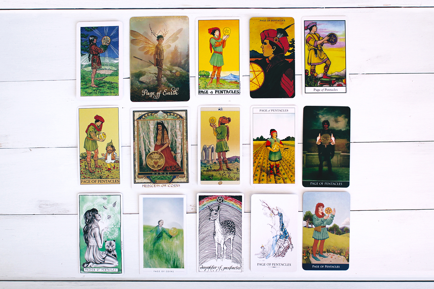 The Pages of the Tarot – Page of Pentacles – ILLUMINATE HOPE